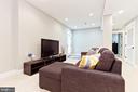Recessed lighting in basement - 3000 12TH ST S, ARLINGTON