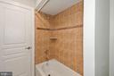Lower level Bathroom - 2617 S KENMORE CT, ARLINGTON