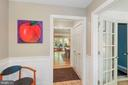 Gracious foyer with double closets - 623 4TH ST SW, WASHINGTON