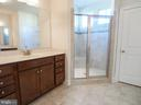 Upper  Level Master Bath - 41868 PADDOCK GATE PL, ASHBURN
