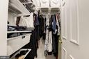 Master Bedroom - Custom Elfa Walk-In Closet! - 7758 NEW PROVIDENCE DR #10, FALLS CHURCH