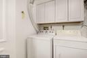 Laundry Room - Energy Efficient Washer & Dryer! - 7758 NEW PROVIDENCE DR #10, FALLS CHURCH