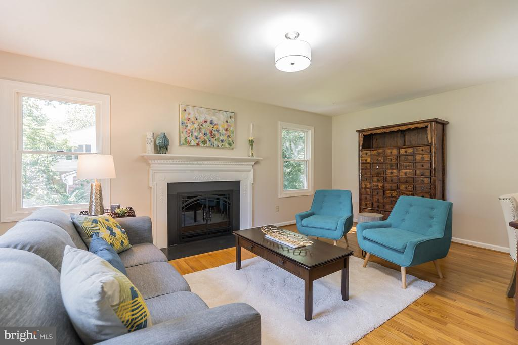 Slip away in here & read by the fire - 10832 MIDDLEBORO DR, DAMASCUS