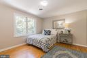 Bedroom 2, fits a king size bed. Double window - 10832 MIDDLEBORO DR, DAMASCUS