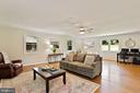 Family rm off the kitchen soaked in natural light - 10832 MIDDLEBORO DR, DAMASCUS