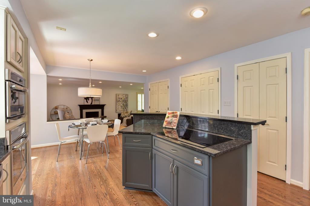 Induction cooktop in island - 1000 DARTMOUTH RD, ALEXANDRIA