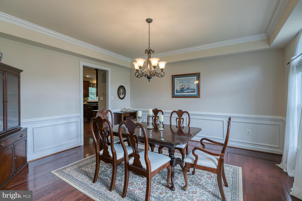Large Dining Room For Entertaining - 5 ABRAHAM CT, STAFFORD