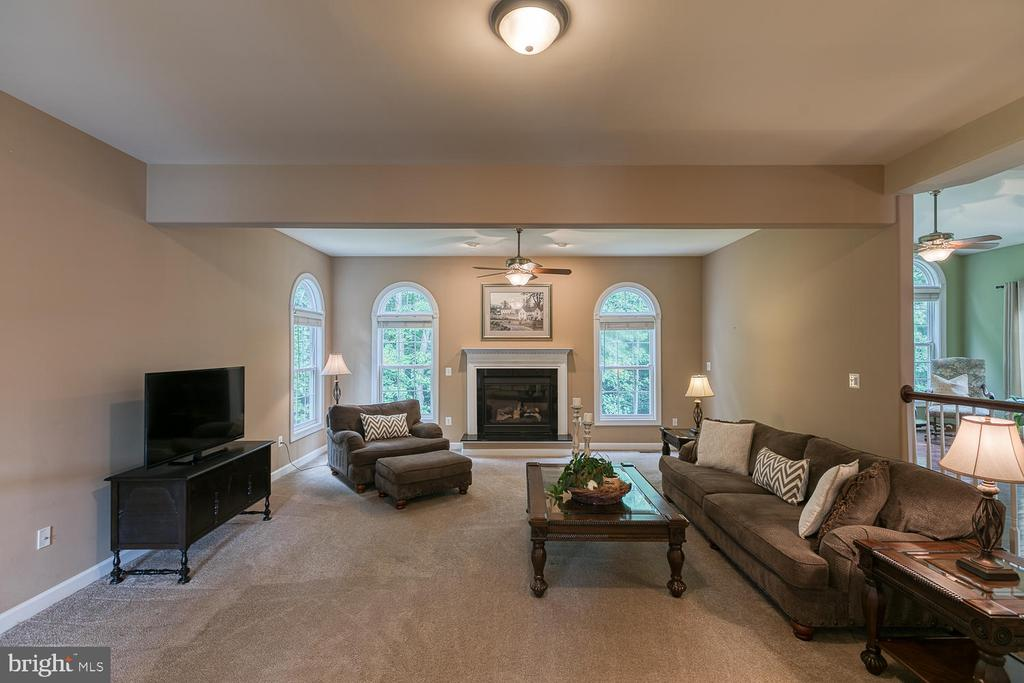 Large Step Down Family Room - 5 ABRAHAM CT, STAFFORD