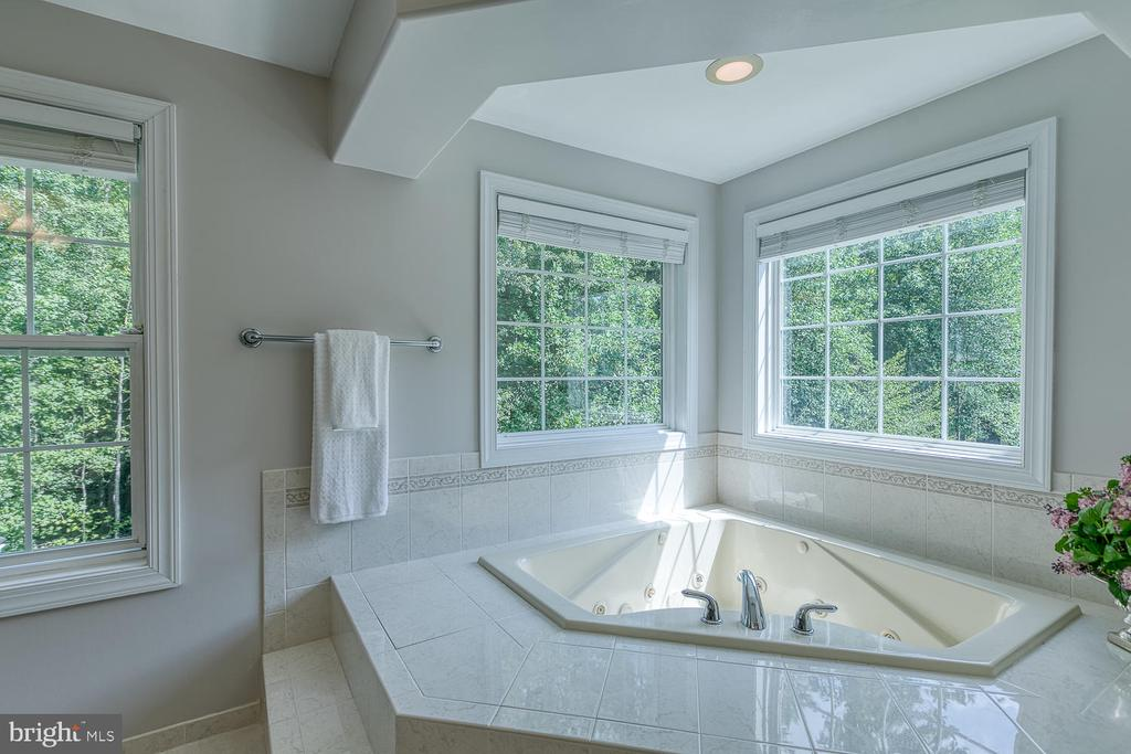 Tub with Serene Views of the Woods - 5 ABRAHAM CT, STAFFORD
