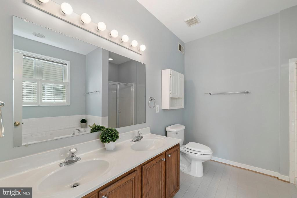 Master Bath - 26235 OCALA CIR, CHANTILLY