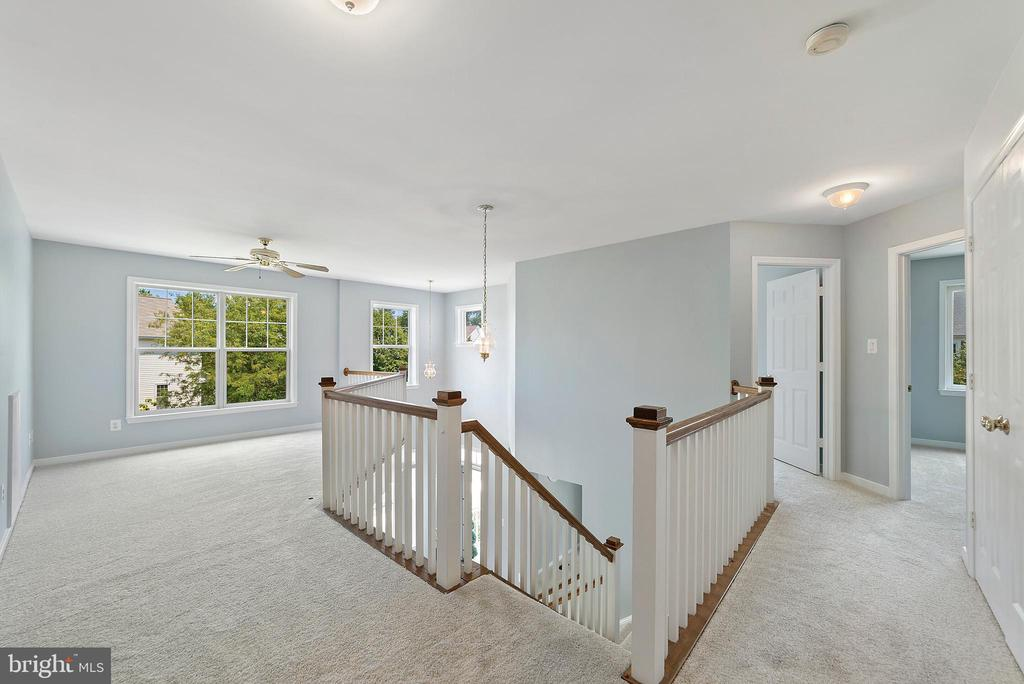Second Floor loft area - 26235 OCALA CIR, CHANTILLY
