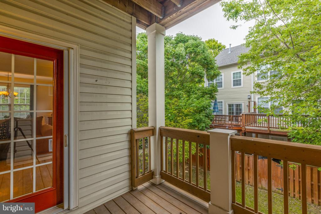 Porch access from living room - 6495 TAYACK PL #201, ALEXANDRIA