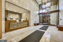 Conceirge in Foyer. - 930 ROSE AVE #1101, NORTH BETHESDA