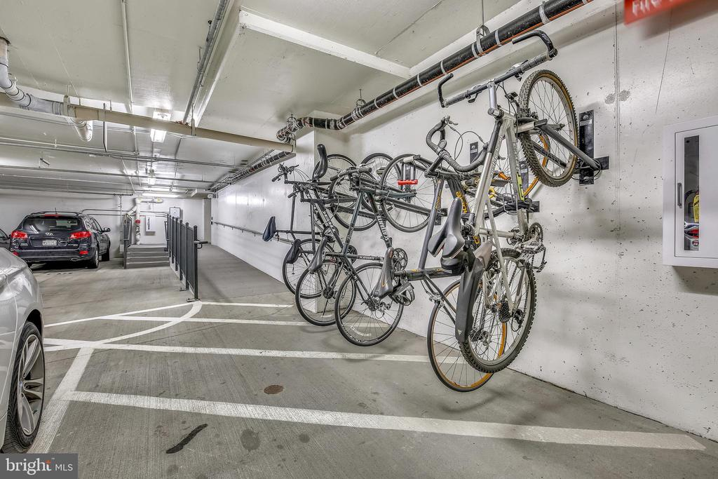 Bicycle Storage in Basement. - 930 ROSE AVE #1101, NORTH BETHESDA