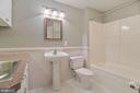 Lower level full bath - 11308 KNIGHTS LANDING CT, LAUREL