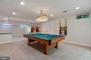 Game room - 11308 KNIGHTS LANDING CT, LAUREL