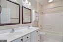 Hall Bath - 11308 KNIGHTS LANDING CT, LAUREL