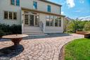 Custom paver patio - 11308 KNIGHTS LANDING CT, LAUREL