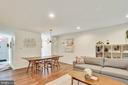 Dining area can accommodate a large table - 1643 S HAYES ST #2, ARLINGTON