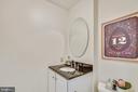 Half bath on main level - 1643 S HAYES ST #2, ARLINGTON