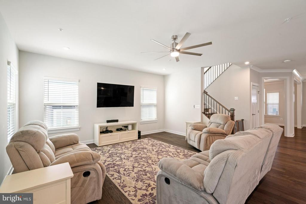 Family room - 17429 SPRING CRESS DR, DUMFRIES