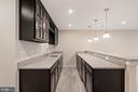 Rec Room bar with - 17429 SPRING CRESS DR, DUMFRIES