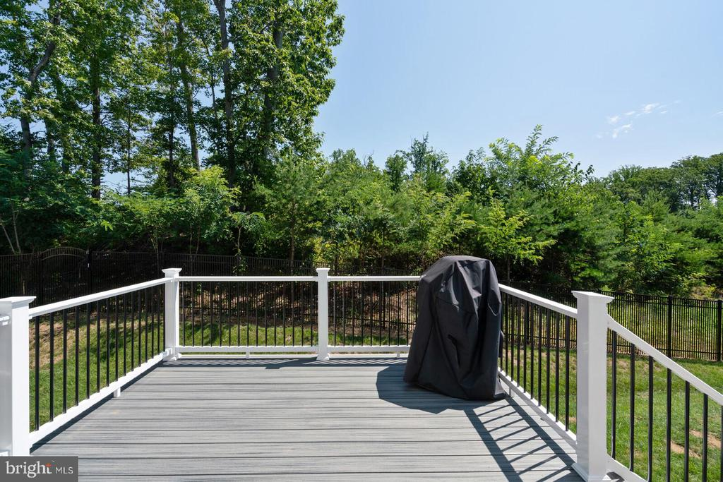 Deck, and Fenced Yard, Wooded Views - 17429 SPRING CRESS DR, DUMFRIES