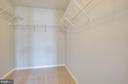 Walk in closet master - 35187 PHEASANT RIDGE RD, LOCUST GROVE