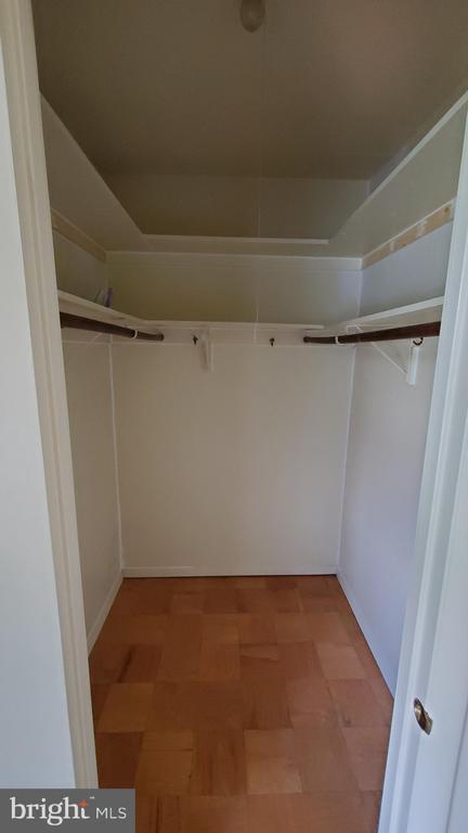 Master bedroom walk in closet - 307 SHENANDOAH ST SE, LEESBURG