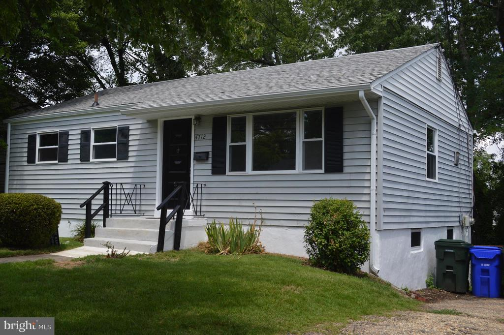 Final picture of this extensively renovated home! - 4712 EDGEWOOD RD, COLLEGE PARK