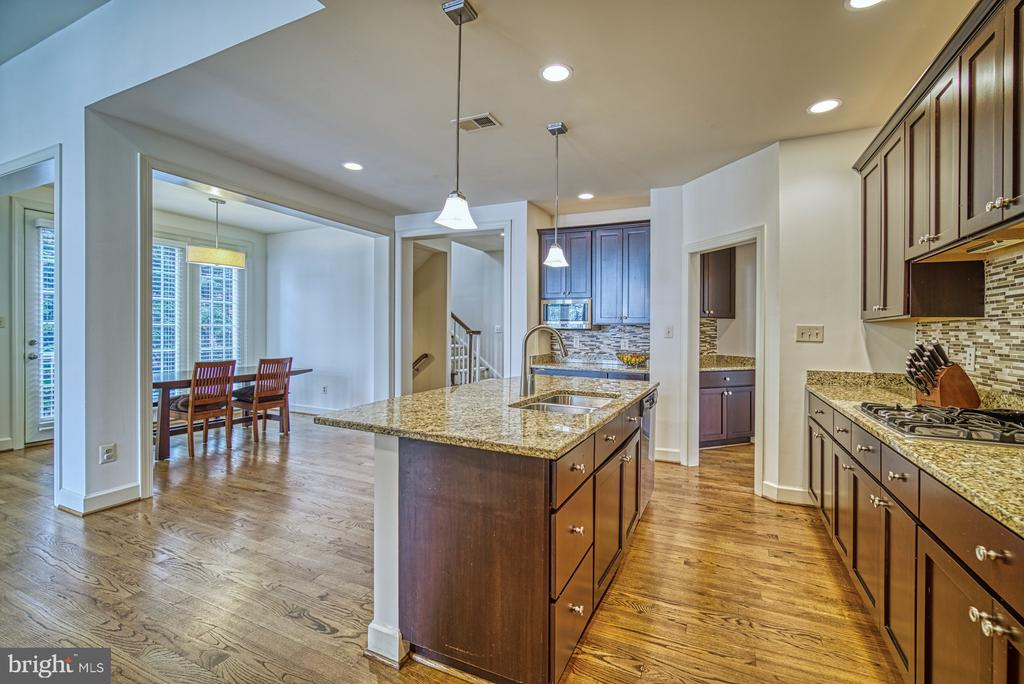 Beautiful Granite Countertops and SS Appliances - 42439 MERIDIAN HILL DR, BRAMBLETON