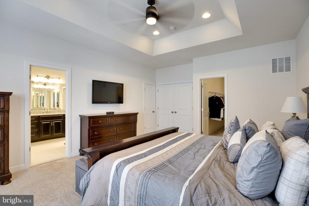 Master with large master bath and walk in closet - 42308 IMPERVIOUS TER, BRAMBLETON