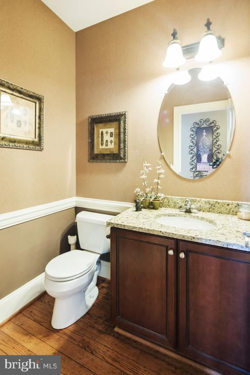 main level powder room - 2270 W GREENLEAF DR, FREDERICK