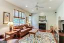 Step Down Family Rm with Gas Fireplace - 8728 HIDDEN POOL CT, LAUREL