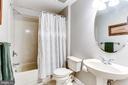 Full Lower Level Bathroom - 8728 HIDDEN POOL CT, LAUREL