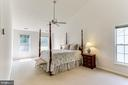 Master Suite- Cathedral Ceiling- Freshly Painted - 8728 HIDDEN POOL CT, LAUREL