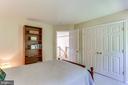 Large Two Door Closet! - 8728 HIDDEN POOL CT, LAUREL