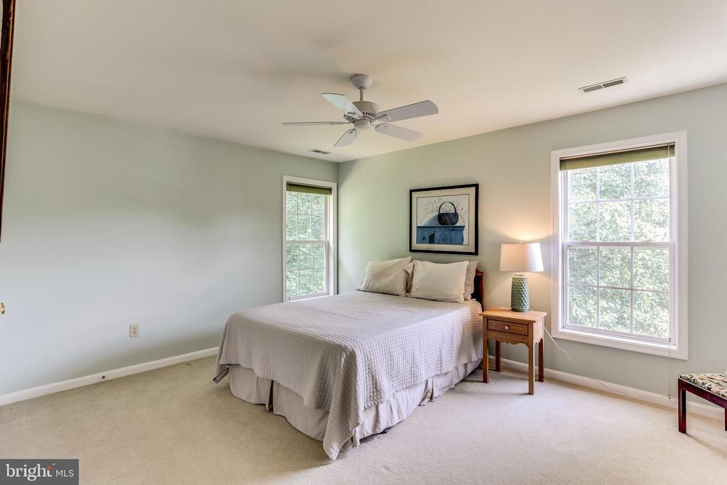 Bedroom #4- King Size Furniture Fits! - 8728 HIDDEN POOL CT, LAUREL