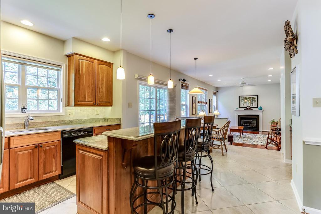 Light Filled Kitchen!  Remodeled 2015 - 8728 HIDDEN POOL CT, LAUREL