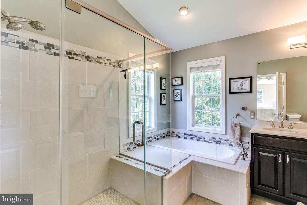 Tastefully Remodeled Master Bathroom- 2016 - 8728 HIDDEN POOL CT, LAUREL