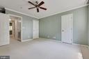 Master Bedroom with ample closet - 1271 N VAN DORN ST, ALEXANDRIA