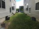 Side yard - 9560 TARVIE CIR, BRISTOW