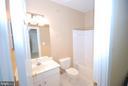 Basement bathroom - 9560 TARVIE CIR, BRISTOW