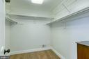 Master bedroom walk-in closet - 10517 CEDAR CREEK DR, MANASSAS