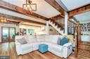 Love this family room! - 1201 LAKEVIEW PKWY, LOCUST GROVE