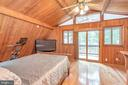 Master with private screened porch - 1201 LAKEVIEW PKWY, LOCUST GROVE