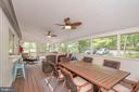 Huge screened porch is perfect for entertaining - 1201 LAKEVIEW PKWY, LOCUST GROVE