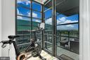 There is room for a peloton in the livingroom - 45 SUTTON SQ SW #1104, WASHINGTON