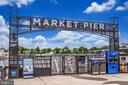 Market pier for getting on boats and water taxi - 45 SUTTON SQ SW #1104, WASHINGTON