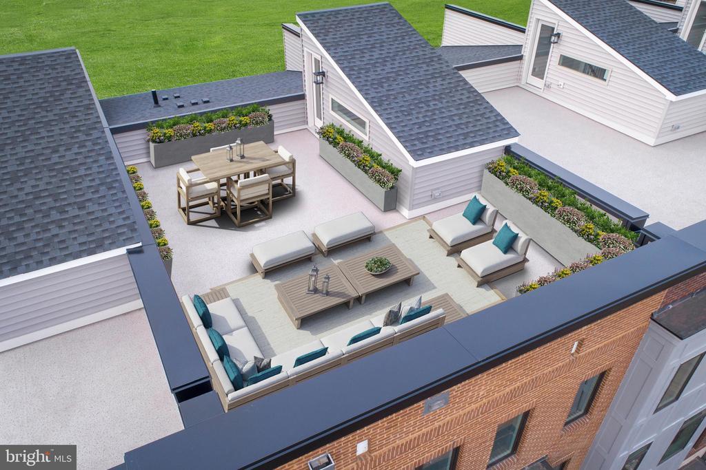 Rooftop Terrace - 23549 NEERSVILLE CORNER TER, ASHBURN